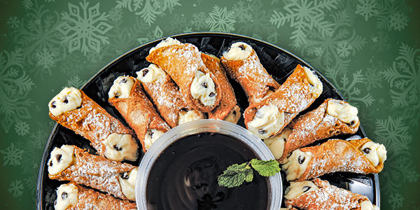 Free Holiday Cannoli - Buca