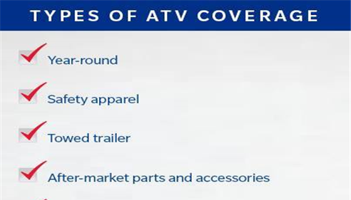 Fall is ATV weather!  Is your covered?
