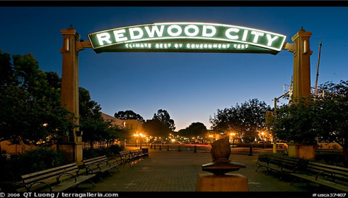 Redwood City, CA Night