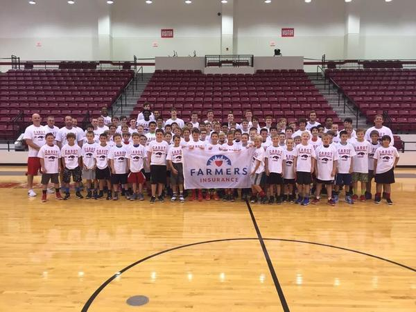 The Brown Agency sponsorship of the summer basketball camp