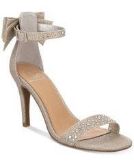 Image of Material Girl Beverly Bow Dress Sandals, Created for Macy's