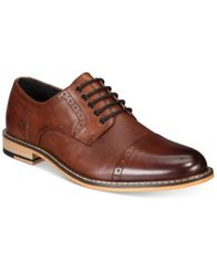 Image of Bar III Men's Parker Cap-Toe Brogues Created for Macy's
