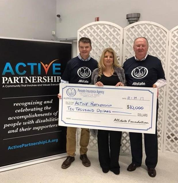 Melissa Baxter-Penzato - Active Partnership Receives Allstate Foundation Helping Hands Grant