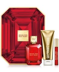 Image of Michael Kors 3-Pc. Sexy Ruby Deluxe Gift Set