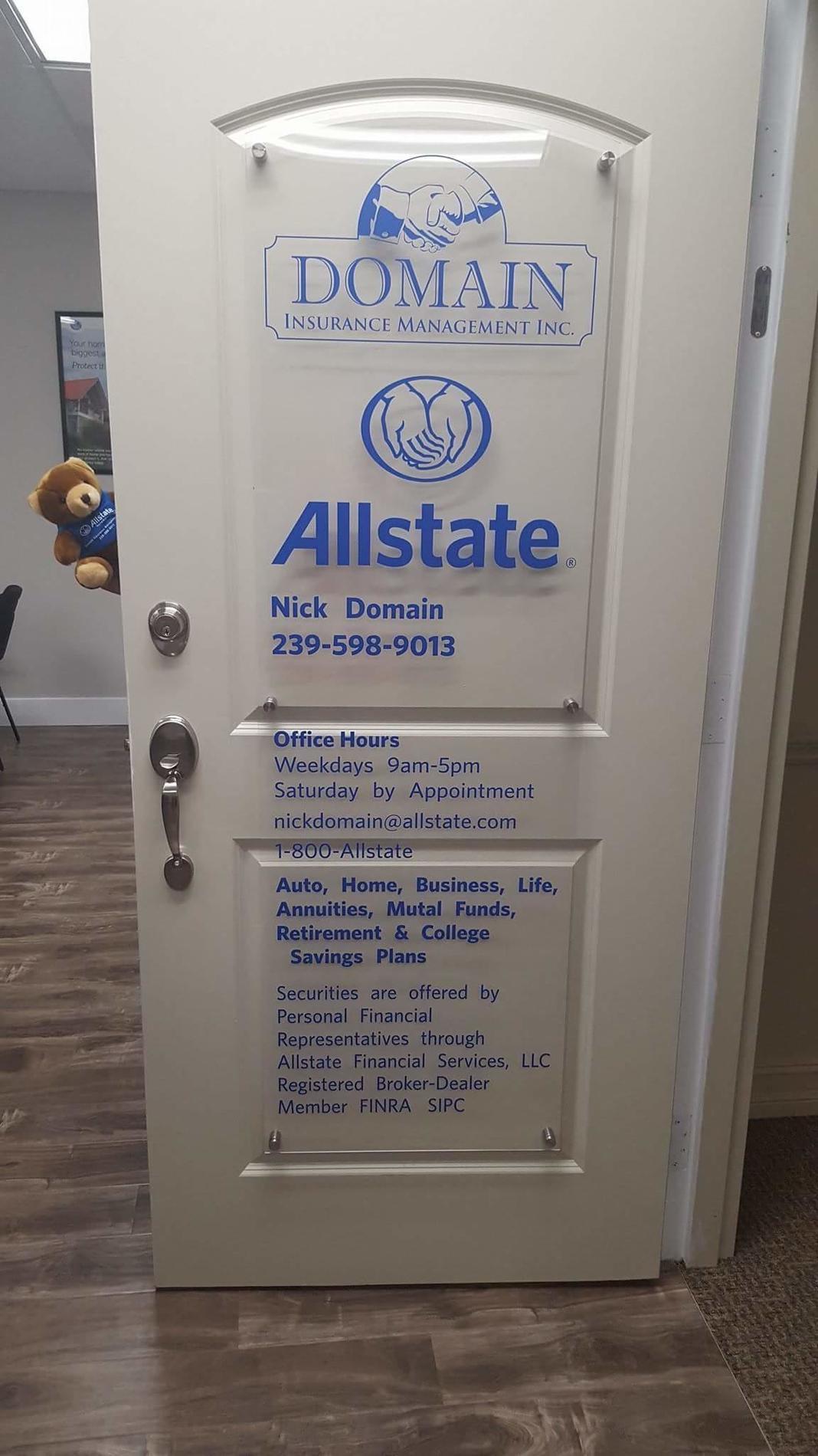 Allstate | Car Insurance in Naples, FL - Nick Domain