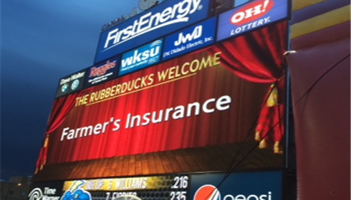 Farmer's® night at the Akron game!
