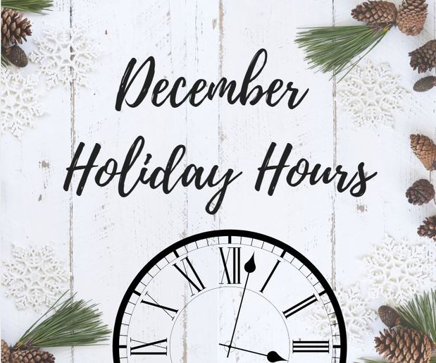 Jon Geiger - Holiday Hours