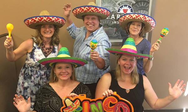 Cinco de Mayo at the Schaffroth Office