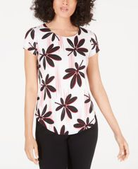 Image of Alfani Printed T-Shirt, Created for Macy's