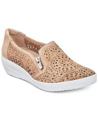 Image of Anne Klein Sport Yvette Perforated Slip-On Sneakers