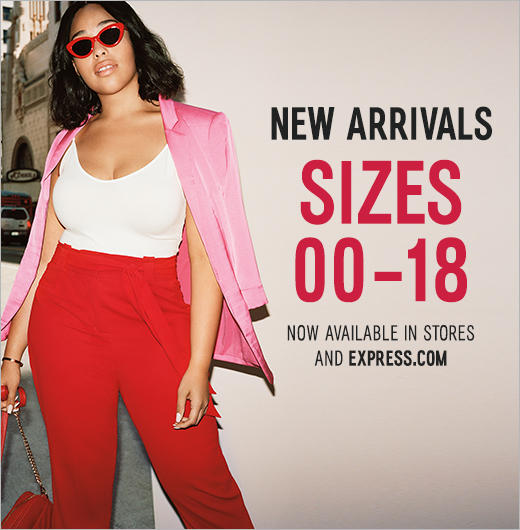 Visit Tysons Corner Center for new women's arrivals available in sizes 00 to 18.
