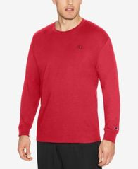Image of Champion Men's Long-Sleeve Jersey T-Shirt