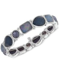 Image of Nine West Stone Stretch Bracelet