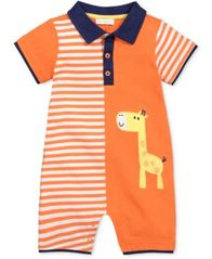 Image of First Impressions Giraffe Romper, Baby Boys, Created for Macy's