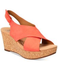 Image of Clarks Collections Women's Annadel Eirwyn Wedge Sandals