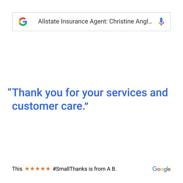 Christine Angles - Small Thanks with Google