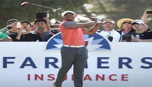 Farmers® Insurance Open at the Torrey Pines Golf course in San Diego, CA