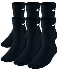 Image of Nike Kids Socks, Boys 6-Pack Crew Socks