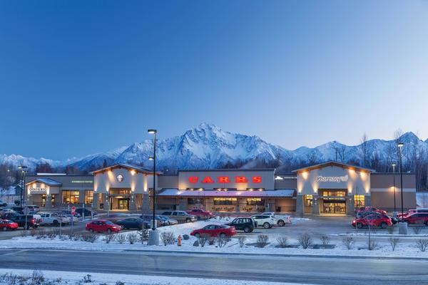 Carrs Store Front Picture - 664 W Evergreen Ave in Palmer AK