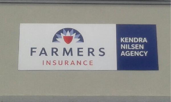 Farmers Insurance business card