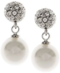Image of Givenchy Pearl Fireball Drop Earrings