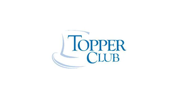 topper club award logo