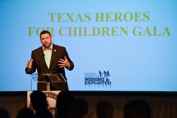 Ed Mena - Texas Heroes for Children Gala