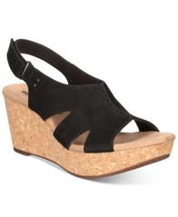 Image of Clarks Collection Women's Annadel Bari Wedge Sandals