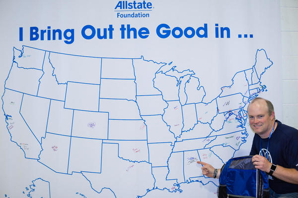 Jonathan Holladay - Allstate Foundation Helping Hands in the Community