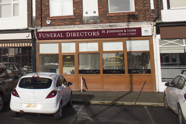 H Johnson & Sons Funeral Directors in Churchtown, Southport