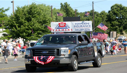 Stanfield Fourth of July Parade 2013