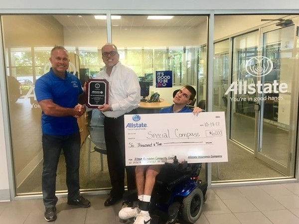 Michael Toro - Allstate Foundation Helping Hands Grant for Special Compass