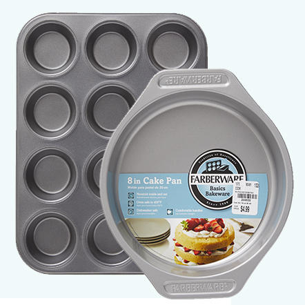 Bakeware. Stock up when you get more for less at Tuesday Morning! From coated and metallic baking sheets to cupcake pans, cooling racks and more, you'll find everything you need to bake amazing treats everyone will enjoy.