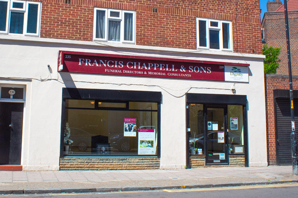Francis Chappell & Sons Funeral Directors in Walworth
