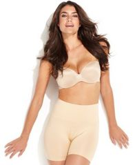 Image of Jockey Women's Slimmers Seamless Shorts 4136, also available in extended sizes
