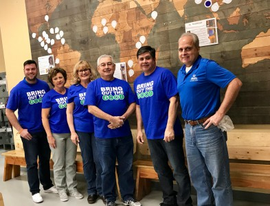 Jacque Riggs - Volunteering with Feed My Starving Children