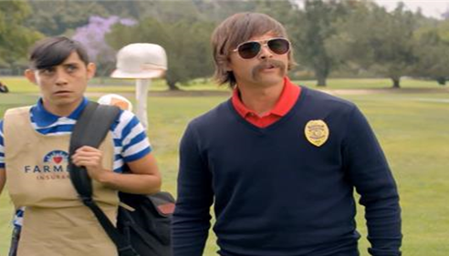 Rickie Fowler undercover