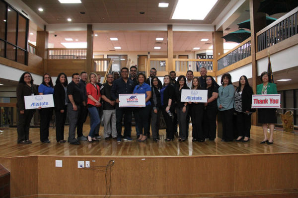 Irma Perez Agency - Allstate Foundation Helping Hands Grant for Ysleta Education Foundation