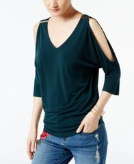 Image of INC International Concepts Cold-Shoulder Top, Created for Macy's