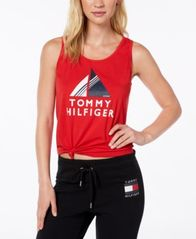 Image of Tommy Hilfiger Sport Knotted Logo T-Shirt, Created for Macy's