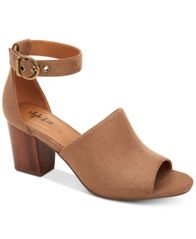 Image of Style & Co Priyaa Block-Heel Sandals, Created for Macy's
