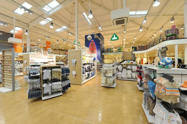 Mothercare Leeds store overview