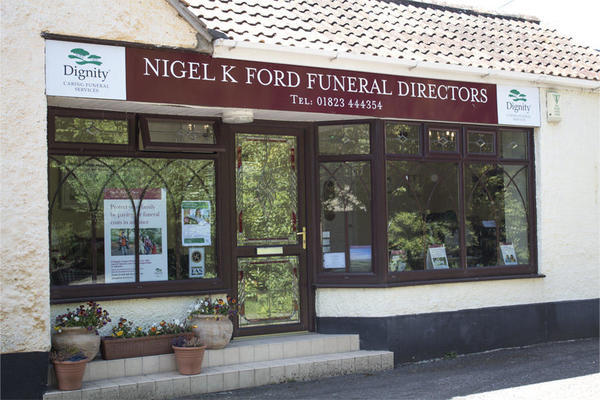 Nigel K Ford Funeral Directors in Creech St Michael, Taunton, Somerset.