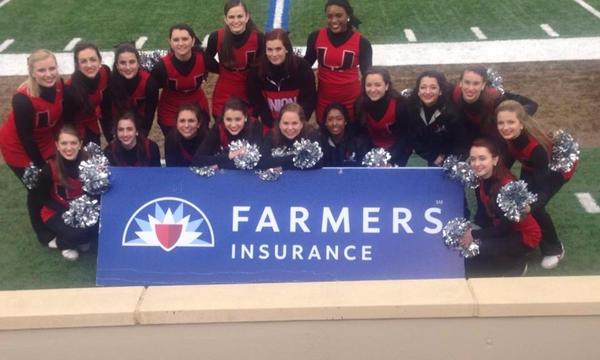 Vowels Insurance Agency and Farmers Insurance a Proud supporter of Union Pom