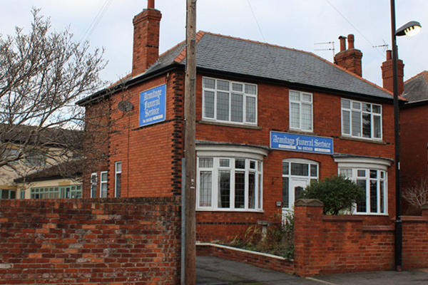 Armitage Funeral Directors in 3A Field Road, Thorne