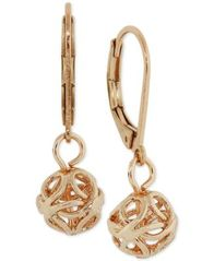 Image of 2028 Openwork Ball Drop Earrings