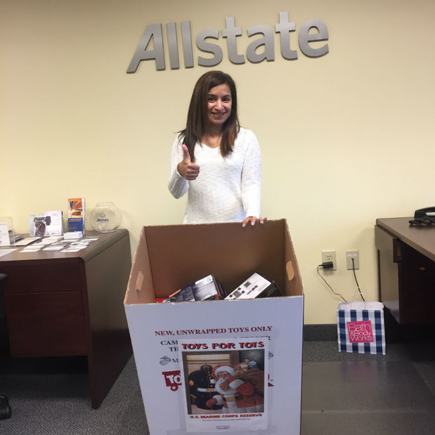 Geetu Mistry - We're Collecting Toys for Tots
