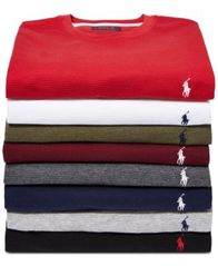 Image of Polo Ralph Lauren Men's Waffle-Knit Thermal