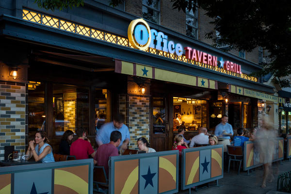 Office Tavern Grill at 3 South Street, Morristown, NJ
