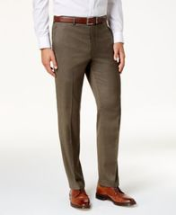 Image of Lauren Ralph Lauren Men's Covert Twill Ultraflex Dress Pants